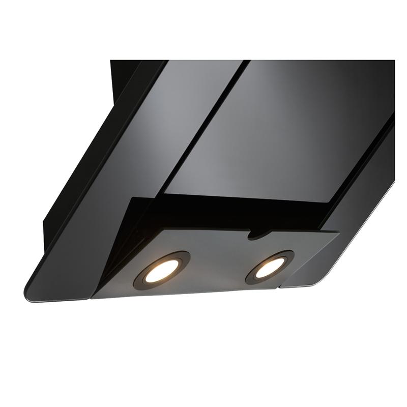 90 cm kopffrei dunstabzugshaube cypris randabs wei glas blende abluft umluft. Black Bedroom Furniture Sets. Home Design Ideas