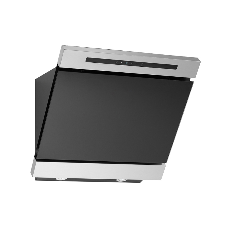 dunstabzugshaube kopffrei sakura edelstahl schwarz glas 60. Black Bedroom Furniture Sets. Home Design Ideas